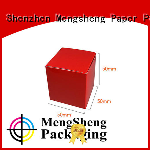 Mengsheng removable paper boxes pvc inserted for toy storage