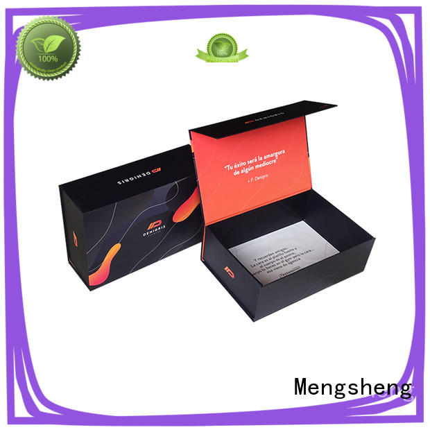 folding folding box template waterproof for florist Mengsheng