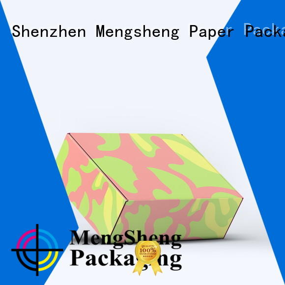 Mengsheng dress box corrugated cardboard
