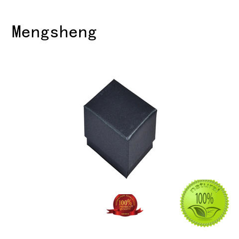 Mengsheng magnetic closure custom box manufacturers removable top brand