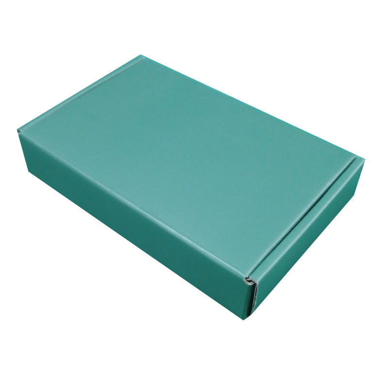 Mengsheng printing corrugated packaging box clothing packing convenient-1