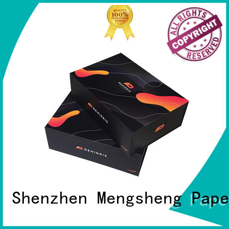 Mengsheng new magnetic inbox printing for toy storage