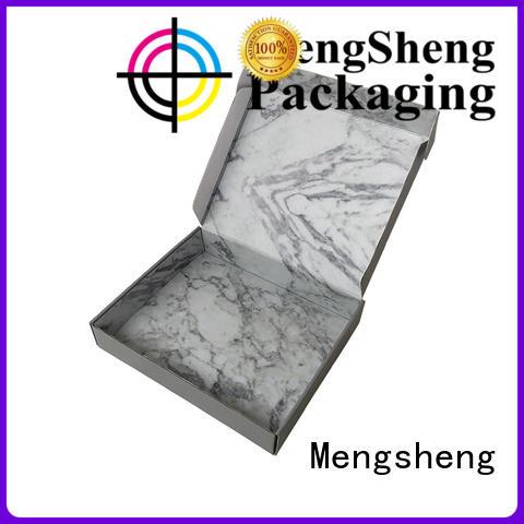 Mengsheng cosmetic packaging garment boxes ectronics packing