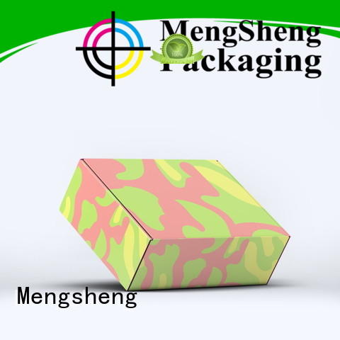 cosmetic packaging bikini box corrugated paper corrugated cardboard with handle