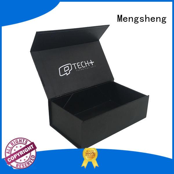 Mengsheng foldable box foldable easy closure for florist