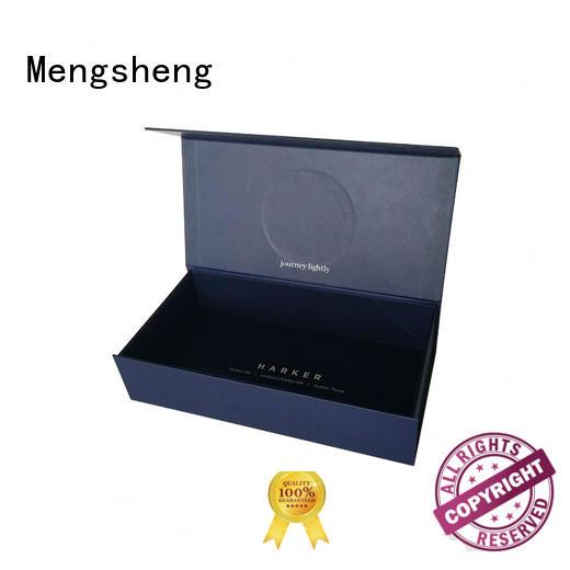 Mengsheng at discount white magnetic box carton printed clothing shipping