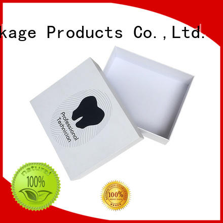 2 piece gift boxes--white color rigid cardboard jewelry gift chocolate packaging