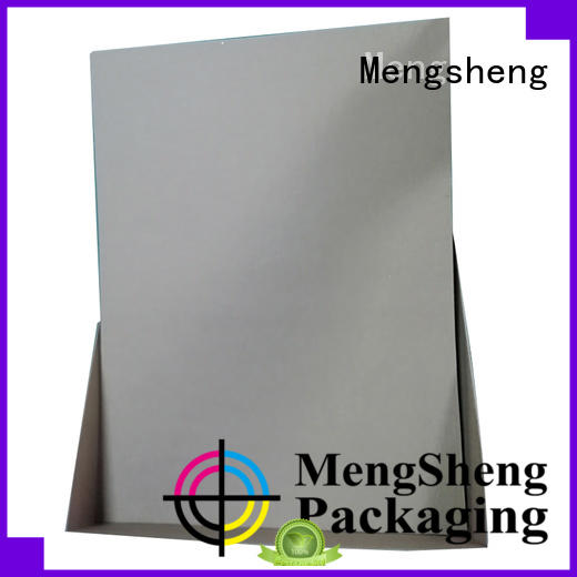 Mengsheng jewelry confectionery boxes natural kraft paper for sale