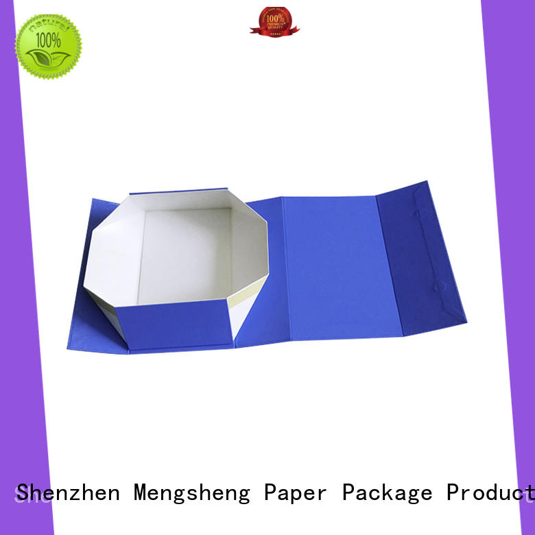 Mengsheng removable small magnetic box carton printed for fruit packaging