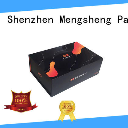 Mengsheng wholesale small magnetic box printing for christmas gift