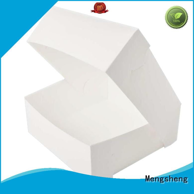 Mengsheng magnetic closure large cake box reversible