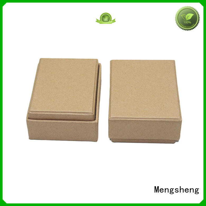 2 piece gift box - kraft color eco-friendly cardboard sturdy