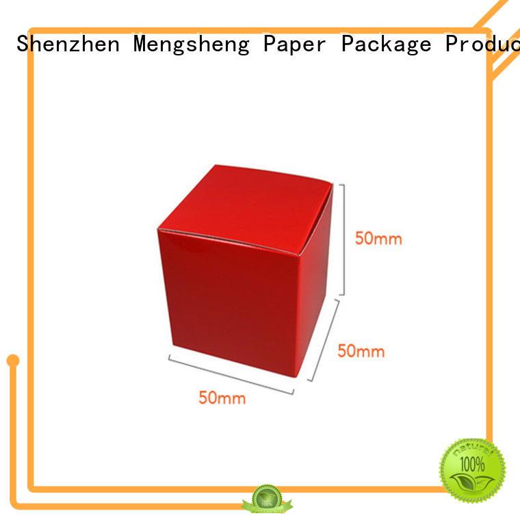eco-friendly bulk gift boxes folding design with lid Mengsheng