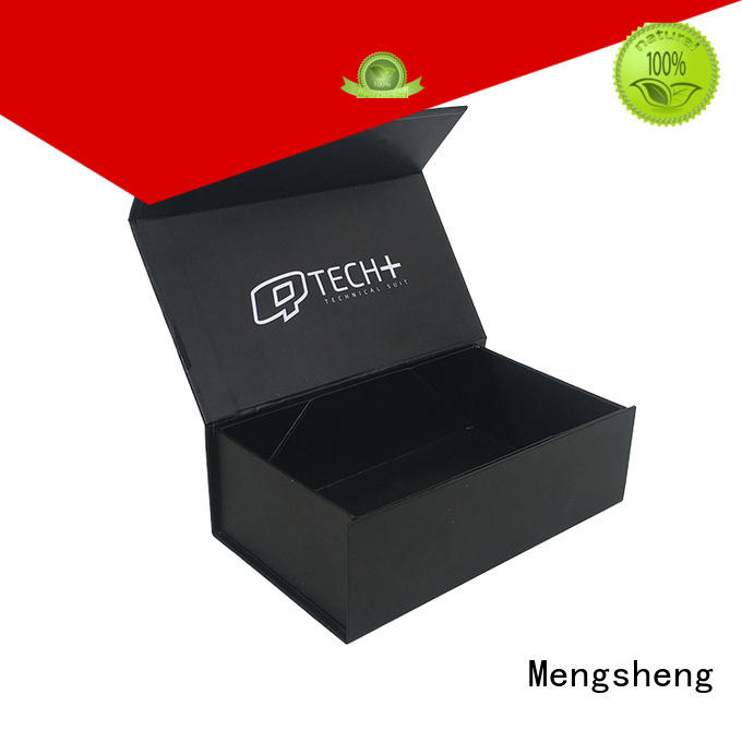 Mengsheng hot-sale magnet gift box folding design clothing shipping