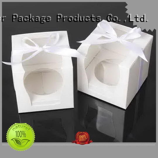 Mengsheng imprinted mini cake boxes removable for wholesale