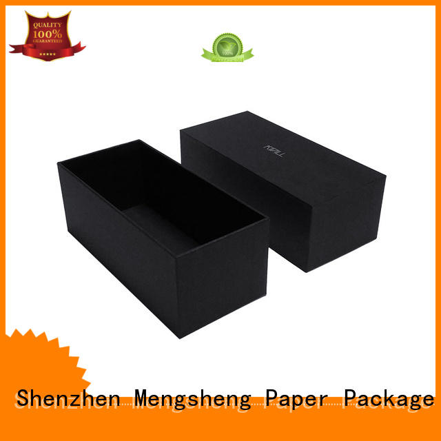 Mengsheng base box packaging clothing packing eco friendly