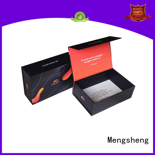 Mengsheng removable small magnetic box corrugated for fruit packaging