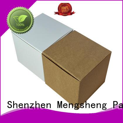 Mengsheng printing cake packaging box rectangular
