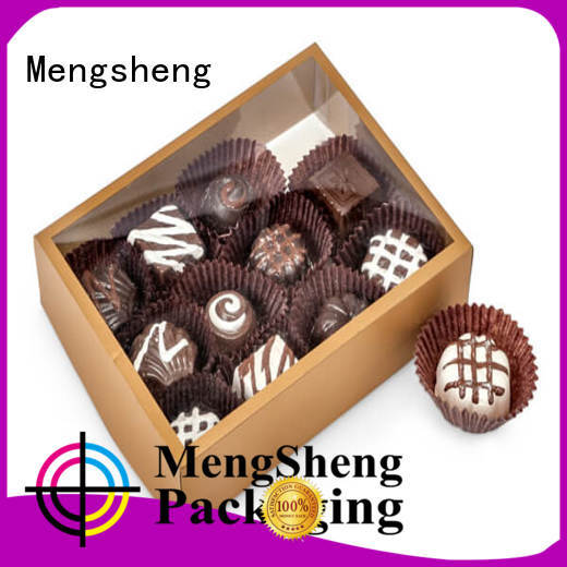 Mengsheng packaging confectionery boxes free sample for packing