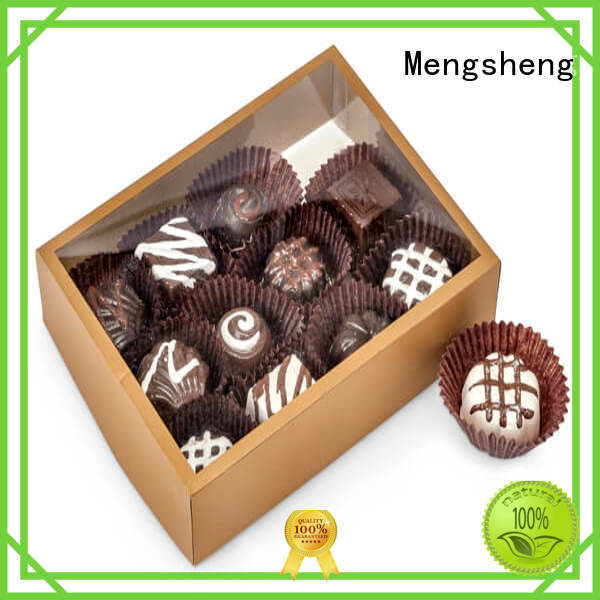 Mengsheng round tube xmas boxes removable at discount
