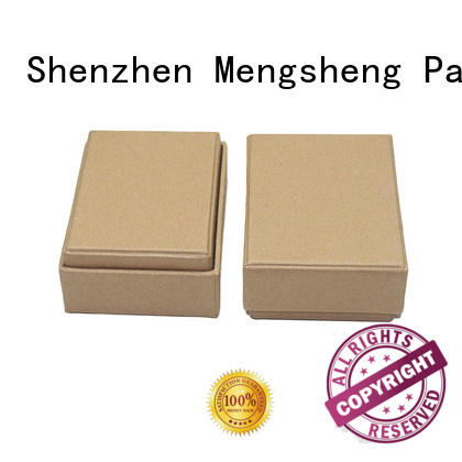 round tube brown cardboard gift boxes high-quality at discount Mengsheng