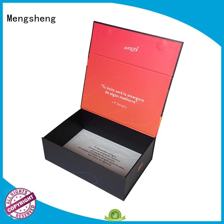 wholesale box with magnet printing for christmas gift