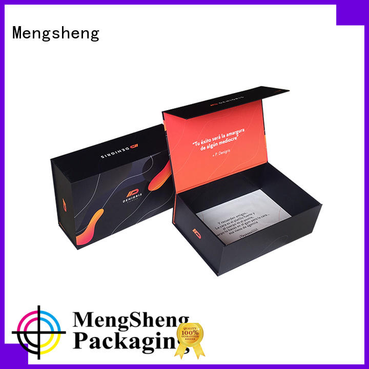 durable folding box packaging folding easy closure swimwear packing