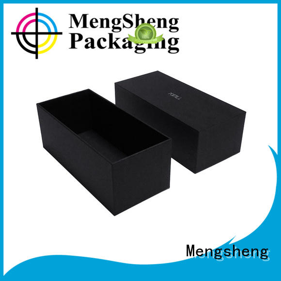 Mengsheng stamping card box with lid rectangular chocolate packing