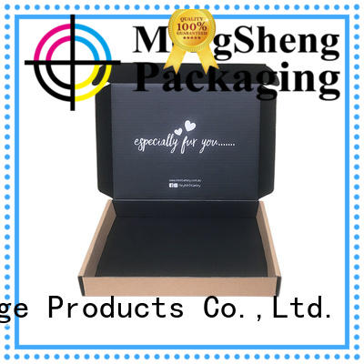 Mengsheng shipping corrugated board shoes packing eco friendly