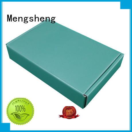 Mengsheng stamping custom brand packaging printed cardboard eco friendly
