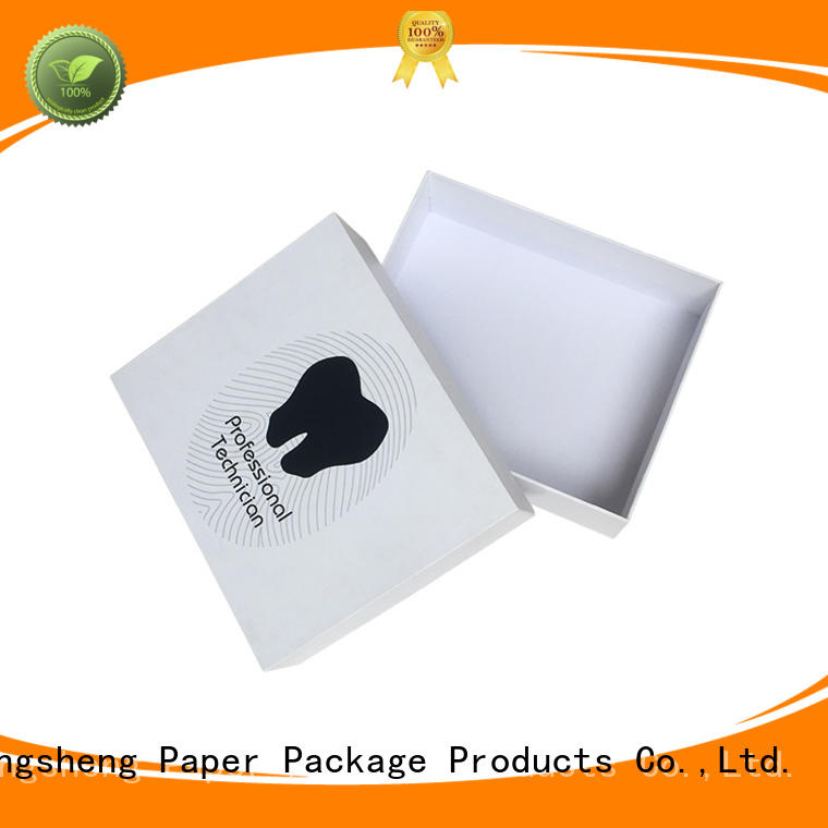 electronics packaging two piece box sturdy luxury chocolate packing