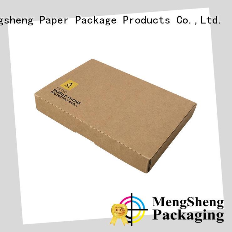 Mengsheng convenient gift boxes wholesale folding design for fruit packaging