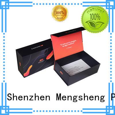 Mengsheng folding paper folding gift box swimwear packing