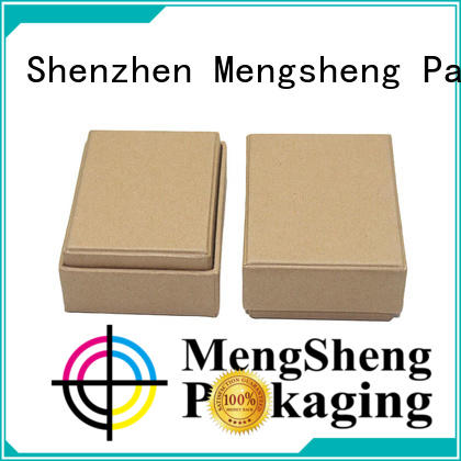 Mengsheng stamping lidded cardboard boxes special for wholesale