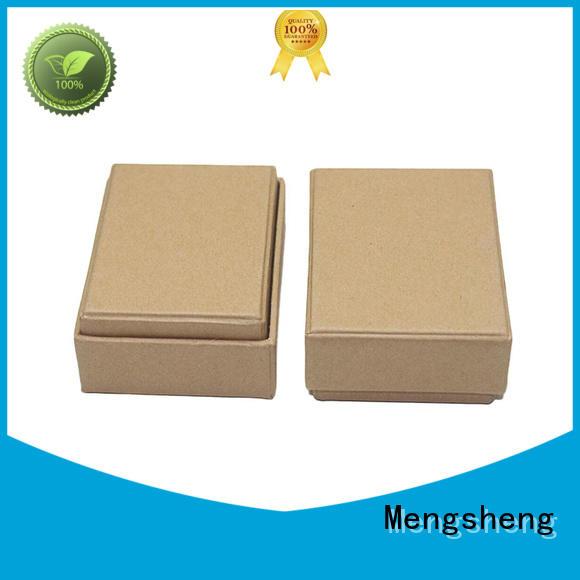 Mengsheng piece cheap jewelry boxes convenient