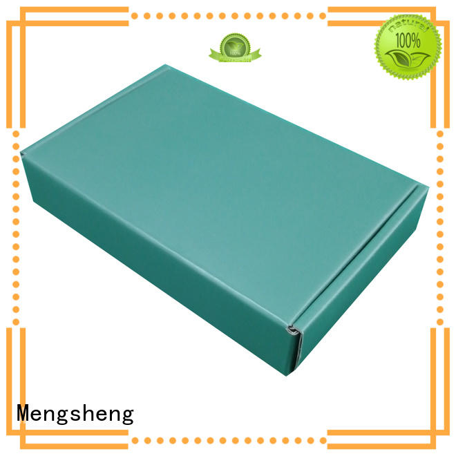 corrugated cheap corrugated boxes wine bottles eco friendly Mengsheng
