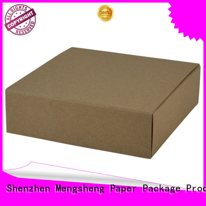 Mengsheng removable small paper boxes pvc inserted for fruit packaging