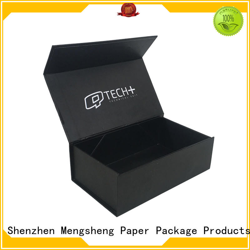 Mengsheng waterproof small foldable cardboard boxes shipping clothing garment packing