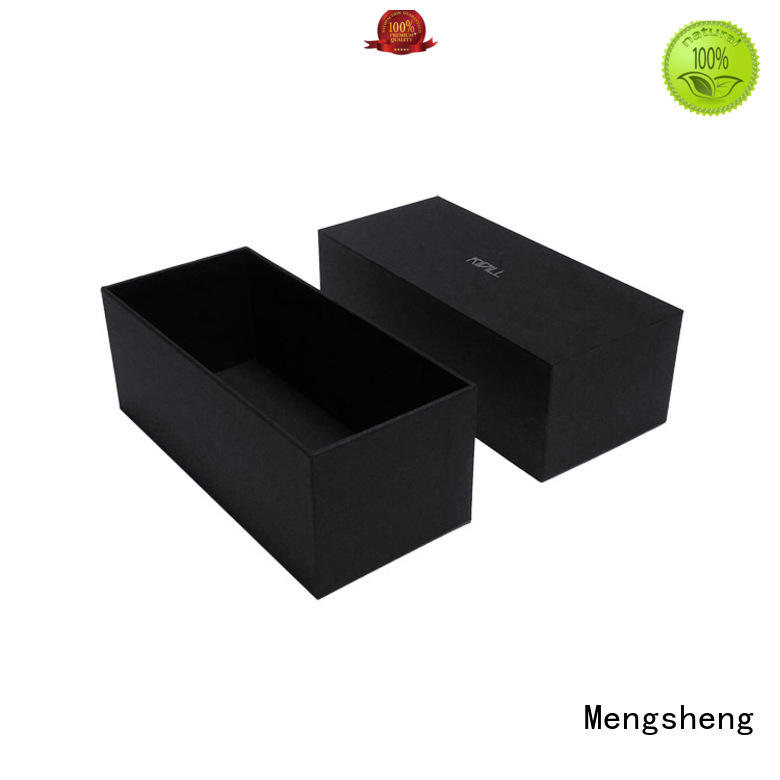 Mengsheng rectangular box packaging shoes packing eco friendly