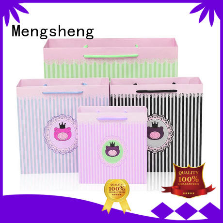 Mengsheng at discount paper bags online shopping with handles