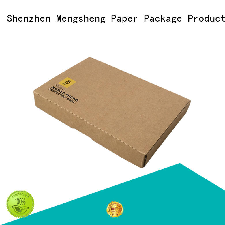 Mengsheng eco-friendly wrap box printing with lid