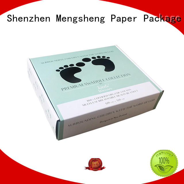 Mengsheng wholesale toy packaging hot-sale with ribbon