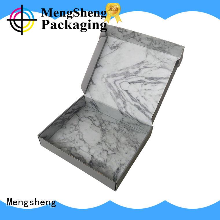 Mengsheng printing dress box with handle