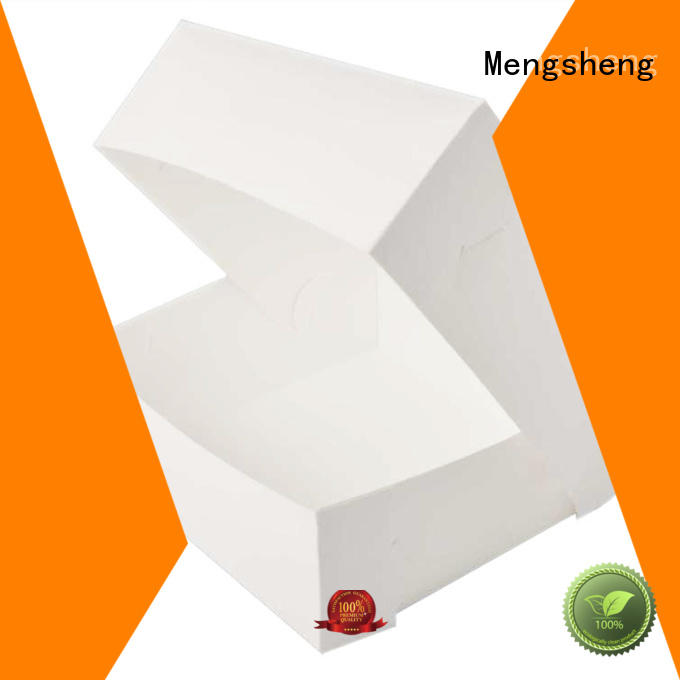 full color small cake boxes insert sturdy