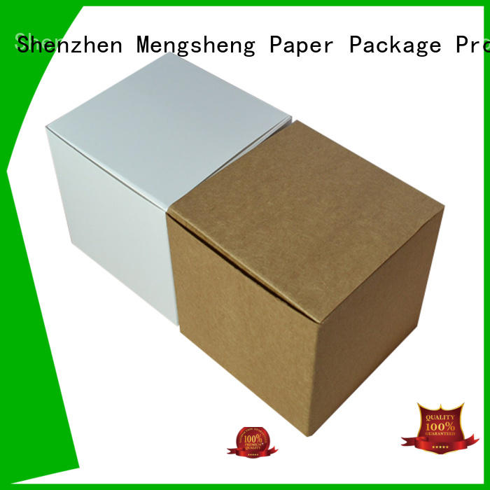 Mengsheng full color mini cake boxes kraft top brand