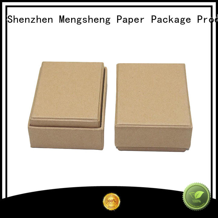 Mengsheng headphones packaging cardboard boxes with lids rectangular jewelry packing