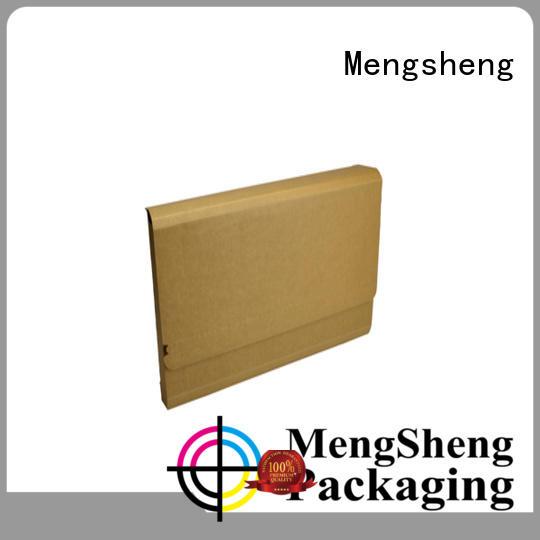 Mengsheng printing corrugated box maker clothing packing eco friendly