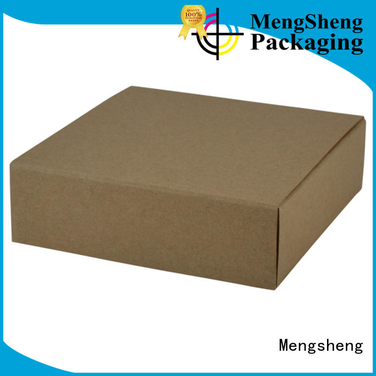 natural kraft paper bulk jewelry boxes removable printed cardboard eco friendly