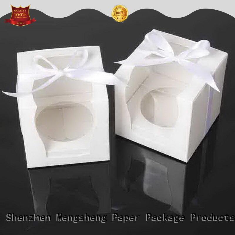 Mengsheng base cheap cake boxes reversible for wholesale