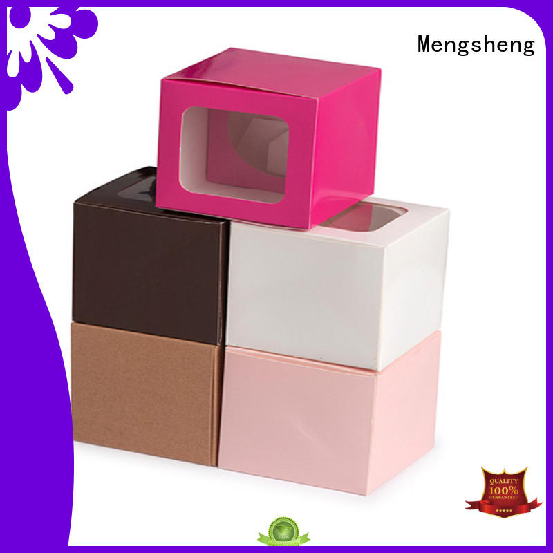 magnetic closure cake packaging printed removable top brand